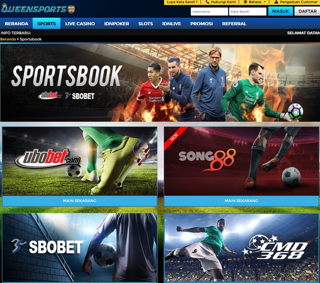 situs taruhan bola queensports99