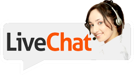live chat customer